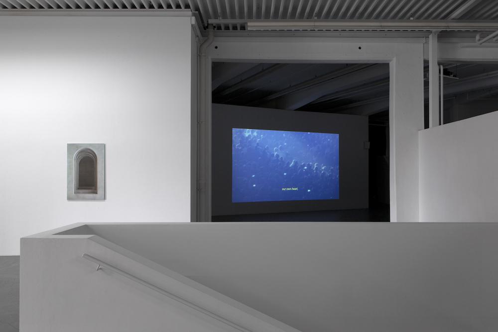 Clément Cogitore, Ausstellungsansicht Kunsthaus Baselland 2019, Foto: Gina Folly