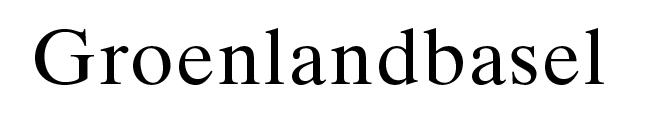 Logo Groenlandbasel